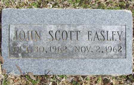 EASLEY, JOHN SCOTT - Benton County, Arkansas | JOHN SCOTT EASLEY - Arkansas Gravestone Photos