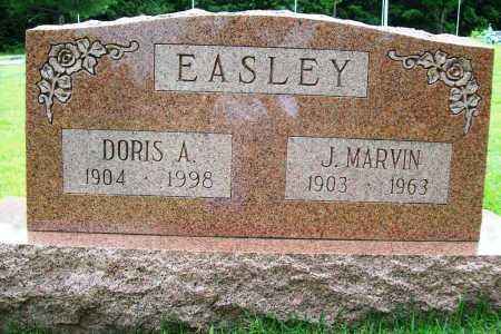 EASLEY, J. MARVIN - Benton County, Arkansas | J. MARVIN EASLEY - Arkansas Gravestone Photos