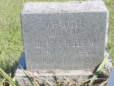 "EASLEY, MARGARET ""MAGGIE"" - Benton County, Arkansas | MARGARET ""MAGGIE"" EASLEY - Arkansas Gravestone Photos"