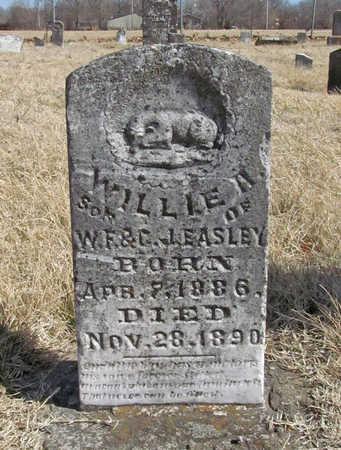 EASLEY, WILLIE ARTHUR - Benton County, Arkansas | WILLIE ARTHUR EASLEY - Arkansas Gravestone Photos
