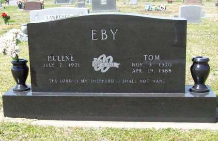 "EBY, ERNEST THOMAS ""TOM"" - Benton County, Arkansas   ERNEST THOMAS ""TOM"" EBY - Arkansas Gravestone Photos"