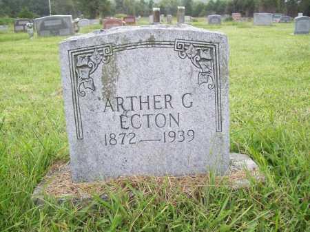 ECTON, ARTHER G. - Benton County, Arkansas | ARTHER G. ECTON - Arkansas Gravestone Photos