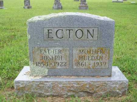 ECTON, HULDAH - Benton County, Arkansas | HULDAH ECTON - Arkansas Gravestone Photos