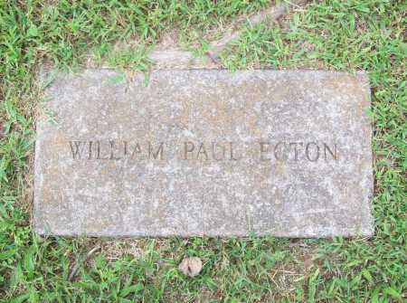 ECTON, WILLIAM PAUL - Benton County, Arkansas | WILLIAM PAUL ECTON - Arkansas Gravestone Photos
