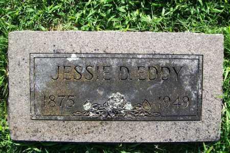 EDDY, JESSIE D. - Benton County, Arkansas | JESSIE D. EDDY - Arkansas Gravestone Photos