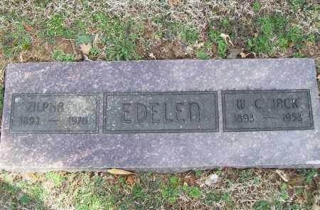 EDELEN, ZILPHA M. - Benton County, Arkansas | ZILPHA M. EDELEN - Arkansas Gravestone Photos