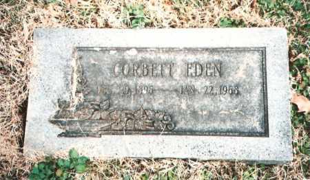 EDEN, SAMUEL CORBETT - Benton County, Arkansas | SAMUEL CORBETT EDEN - Arkansas Gravestone Photos