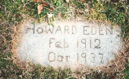 EDEN, HOWARD - Benton County, Arkansas   HOWARD EDEN - Arkansas Gravestone Photos