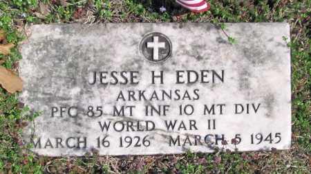 EDEN (VETERAN WWII), JESSE H. - Benton County, Arkansas   JESSE H. EDEN (VETERAN WWII) - Arkansas Gravestone Photos