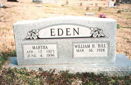 "EDEN, WILLIAM H. ""BILL"" - Benton County, Arkansas | WILLIAM H. ""BILL"" EDEN - Arkansas Gravestone Photos"