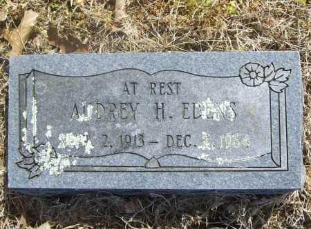 EDENS, AUDREY H. - Benton County, Arkansas | AUDREY H. EDENS - Arkansas Gravestone Photos