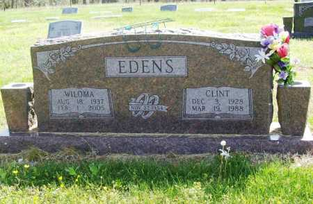 DOYLE EDENS, WILOMA - Benton County, Arkansas | WILOMA DOYLE EDENS - Arkansas Gravestone Photos