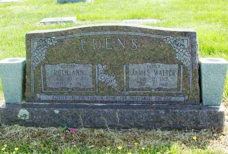 EDENS, JAMES WALTER - Benton County, Arkansas | JAMES WALTER EDENS - Arkansas Gravestone Photos