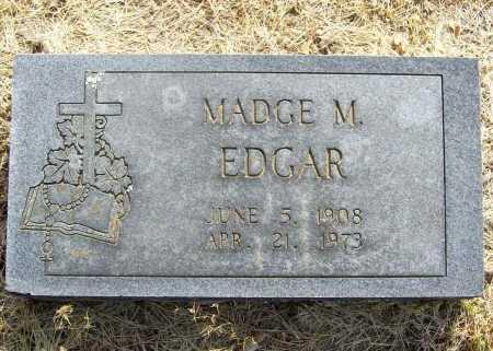 EDGAR, MADGE M. - Benton County, Arkansas | MADGE M. EDGAR - Arkansas Gravestone Photos