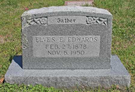 EDWARDS, ELVES E. - Benton County, Arkansas | ELVES E. EDWARDS - Arkansas Gravestone Photos