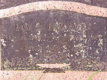 EDWARDS, FAY G. - Benton County, Arkansas   FAY G. EDWARDS - Arkansas Gravestone Photos