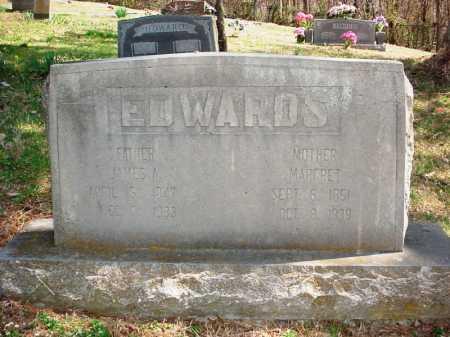 EDWARDS, JAMES A - Benton County, Arkansas | JAMES A EDWARDS - Arkansas Gravestone Photos