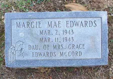 EDWARDS, MARGIE MAE - Benton County, Arkansas   MARGIE MAE EDWARDS - Arkansas Gravestone Photos