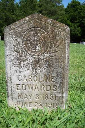 EDWARDS, MARY CAROLINE - Benton County, Arkansas | MARY CAROLINE EDWARDS - Arkansas Gravestone Photos