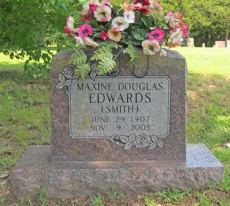 EDWARDS, MAXINE DOUGLAS - Benton County, Arkansas | MAXINE DOUGLAS EDWARDS - Arkansas Gravestone Photos