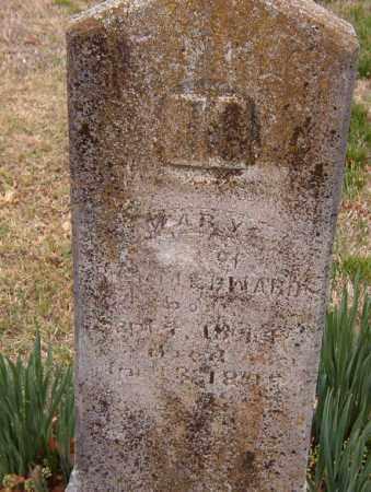 EDWARDS, MARY - Benton County, Arkansas   MARY EDWARDS - Arkansas Gravestone Photos