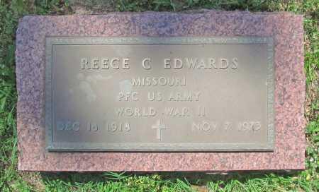 EDWARDS (VETERAN WWII), REECE C - Benton County, Arkansas | REECE C EDWARDS (VETERAN WWII) - Arkansas Gravestone Photos