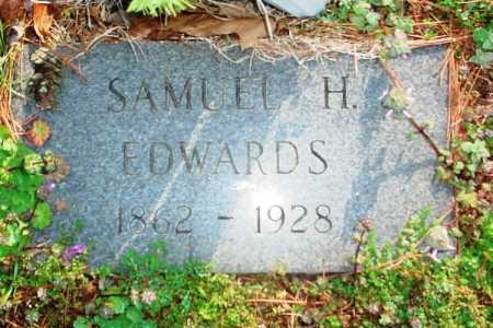 EDWARDS, SAMUEL H. - Benton County, Arkansas | SAMUEL H. EDWARDS - Arkansas Gravestone Photos