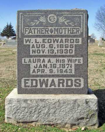 ACOCK EDWARDS, LAURA A. - Benton County, Arkansas | LAURA A. ACOCK EDWARDS - Arkansas Gravestone Photos