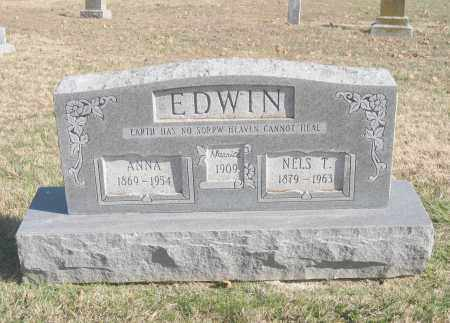 EDWIN, NELS T. - Benton County, Arkansas | NELS T. EDWIN - Arkansas Gravestone Photos