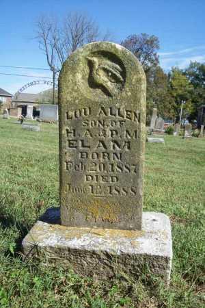 ELAM, LOU ALLEN - Benton County, Arkansas | LOU ALLEN ELAM - Arkansas Gravestone Photos