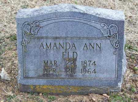 ELD, AMANDA ANN - Benton County, Arkansas   AMANDA ANN ELD - Arkansas Gravestone Photos