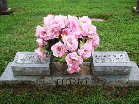 ELDRED, GEORGE W. JR. - Benton County, Arkansas   GEORGE W. JR. ELDRED - Arkansas Gravestone Photos