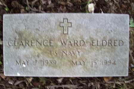 ELDRED (VETERAN), CLARENCE WARD - Benton County, Arkansas | CLARENCE WARD ELDRED (VETERAN) - Arkansas Gravestone Photos