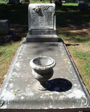ELLIOTT, HARRY W. - Benton County, Arkansas   HARRY W. ELLIOTT - Arkansas Gravestone Photos