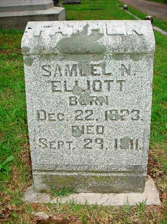 ELLIOTT, SAMUEL N. - Benton County, Arkansas   SAMUEL N. ELLIOTT - Arkansas Gravestone Photos