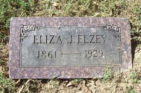 ELZEY, ELIZA J. - Benton County, Arkansas | ELIZA J. ELZEY - Arkansas Gravestone Photos