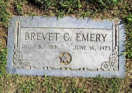 EMERY, BREVET C. - Benton County, Arkansas   BREVET C. EMERY - Arkansas Gravestone Photos