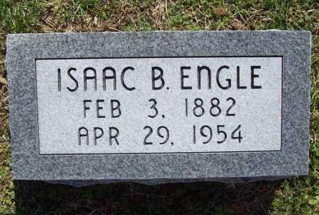 ENGLE, ISAAC B. - Benton County, Arkansas   ISAAC B. ENGLE - Arkansas Gravestone Photos