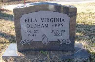 EPPS, ELLA VIRGINIA - Benton County, Arkansas | ELLA VIRGINIA EPPS - Arkansas Gravestone Photos