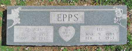 EPPS, LEE - Benton County, Arkansas   LEE EPPS - Arkansas Gravestone Photos