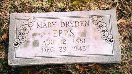 DRYDEN EPPS, MARY - Benton County, Arkansas | MARY DRYDEN EPPS - Arkansas Gravestone Photos