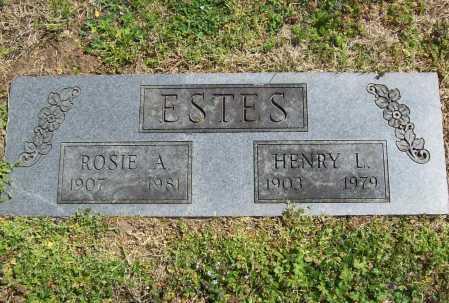 ESTES, ROSIE A. - Benton County, Arkansas   ROSIE A. ESTES - Arkansas Gravestone Photos