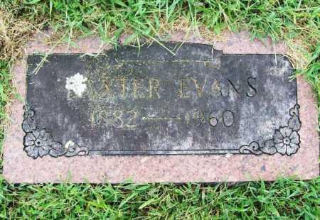 EVANS, BAXTER - Benton County, Arkansas   BAXTER EVANS - Arkansas Gravestone Photos