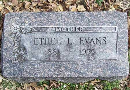 EVANS, ETHEL L. - Benton County, Arkansas | ETHEL L. EVANS - Arkansas Gravestone Photos