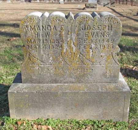 EVANS, JOSEPH - Benton County, Arkansas | JOSEPH EVANS - Arkansas Gravestone Photos
