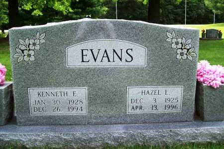 EVANS, KENNETH E. - Benton County, Arkansas | KENNETH E. EVANS - Arkansas Gravestone Photos