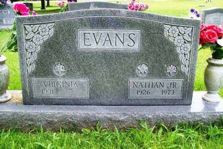 EVANS, NATHAN JR. - Benton County, Arkansas   NATHAN JR. EVANS - Arkansas Gravestone Photos