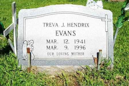 HENDRIX EVANS, TREVA J. - Benton County, Arkansas | TREVA J. HENDRIX EVANS - Arkansas Gravestone Photos
