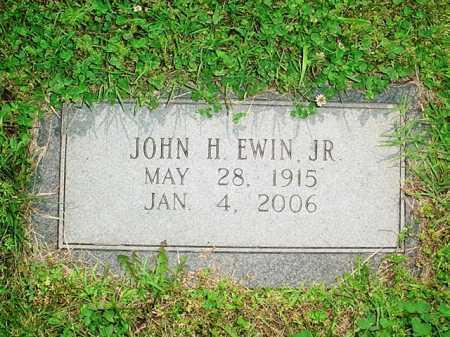 EWIN, JOHN H. JR. - Benton County, Arkansas   JOHN H. JR. EWIN - Arkansas Gravestone Photos