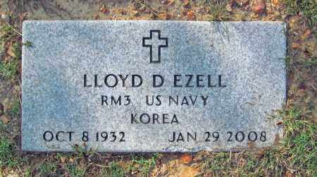 EZELL (VETERAN KOR), LLOYD D - Benton County, Arkansas | LLOYD D EZELL (VETERAN KOR) - Arkansas Gravestone Photos